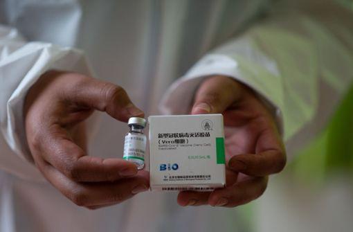 WHO-Notfallzulassung für chinesischen Corona-Impfstoff
