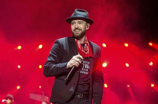 Justin Timberlake läuft sich warm