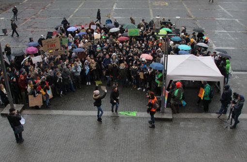 Schüler beschäftigten sich mit Klimaschutz