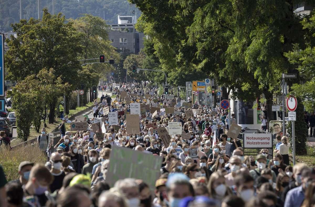 Klimastreik in Stuttgart Foto: Lichtgut/Julian Rettig