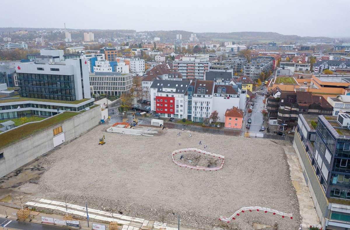 Hier entsteht das PULSE-Quartier Foto: Eibner-Pressefoto/Sascha Walther