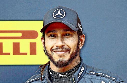 Lewis Hamilton zieht es  ins Weltall