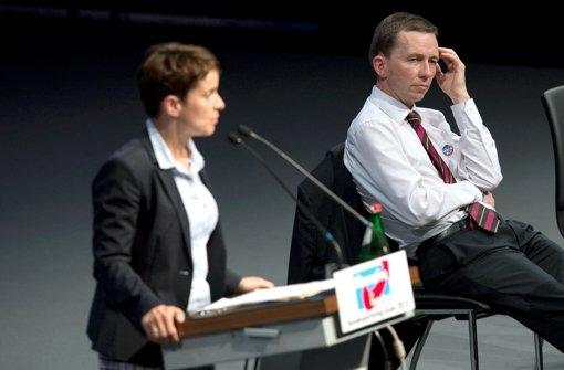 Lucke-Rivalin gewinnt AfD-Machtkampf