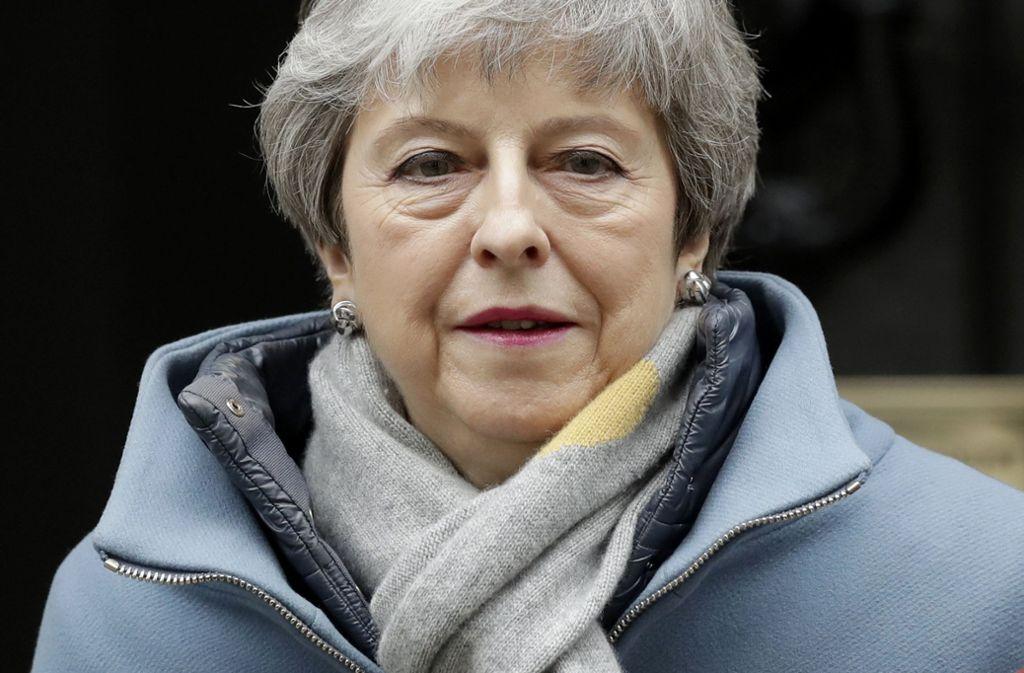 Theresa May bittet die Europäische Union um einen Aufschub des Brexits bis Ende Juni. Foto: AP