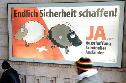 Schweizer lehnen Verschärfung  ab
