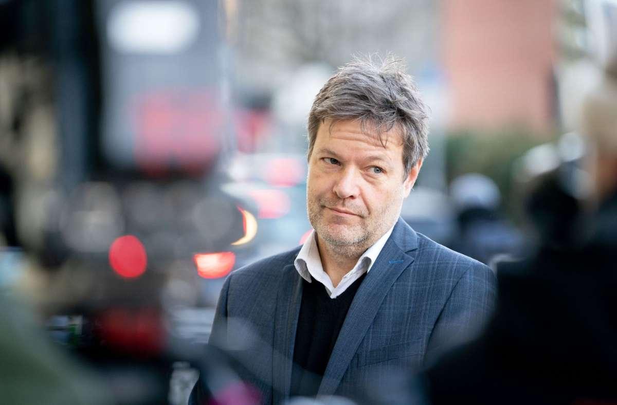 Grünen-Chef Robert Habeck kritisiert den Migrationspakt der EU. Foto: dpa/Kay Nietfeld