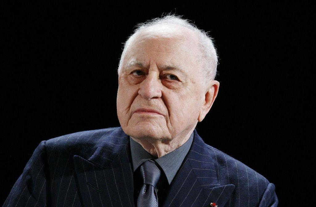 Der französische Geschäftsmann Pierre Bergé ist tot. Foto: AP