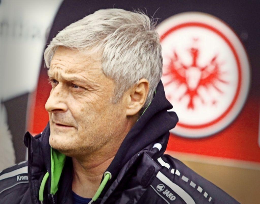 Alter Trainer - neuer Trainer: Armin Veh kehrt zu Eintracht Frankfurtt zurück. Foto: dpa