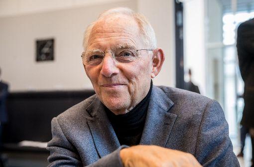 Union will Wolfgang Schäuble vorschlagen