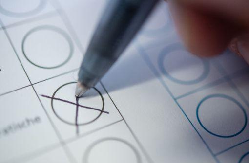 Sattes Plus bei Anträgen auf Briefwahl