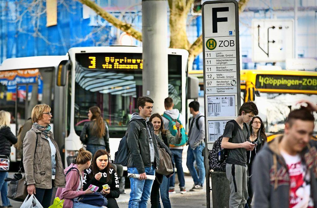 Am 1. Januar ist Startschuss für das neue Buskonzept für den Kreis Göppingen. Foto: Horst Rudel/Archiv