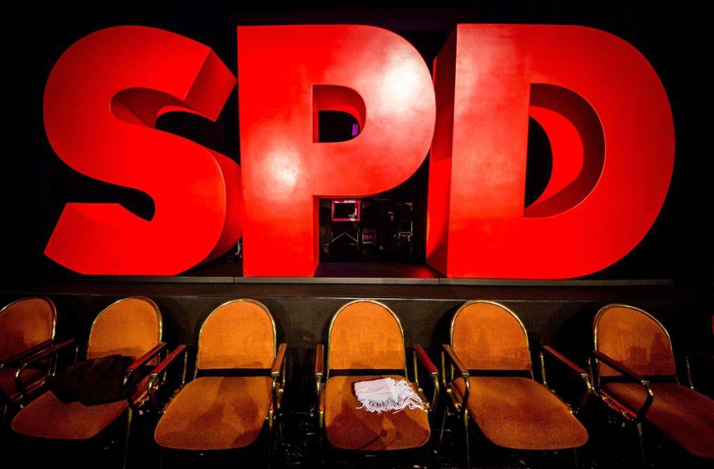 Die SPD verlor 2019 fast 20.000 Mitglieder. Foto: dpa/Christoph Schmidt