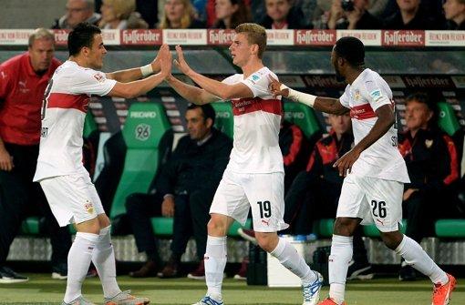 VfB Stuttgart holt seine ersten Punkte