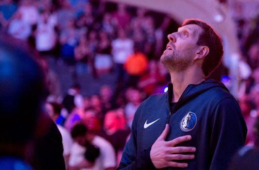 So grandios bedankt sich Dirk Nowitzki bei den Fans