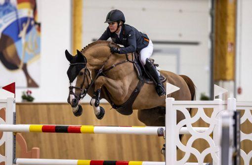 Totes Pferd überschattet DM der Springreiter