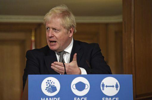 Boris Johnson in Corona-Quarantäne