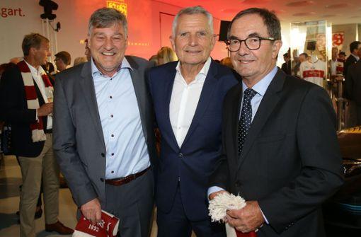 Das waren die VfB-Präsidenten