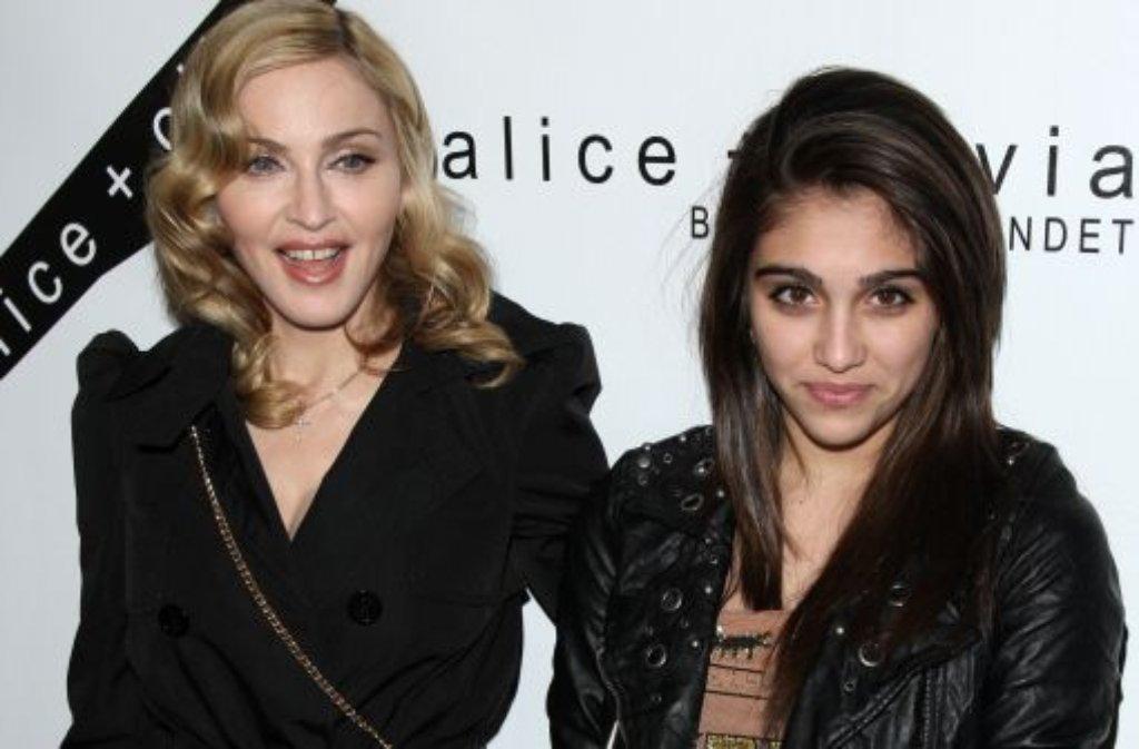 Madonna Tochter Lourdes