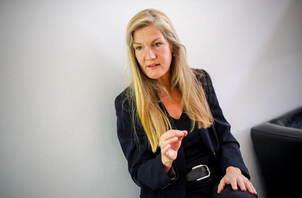 Veronika Kienzle will Nachfolgerin von Fritz Kuhn werden. Foto: Lichtgut/Leif Piechowski