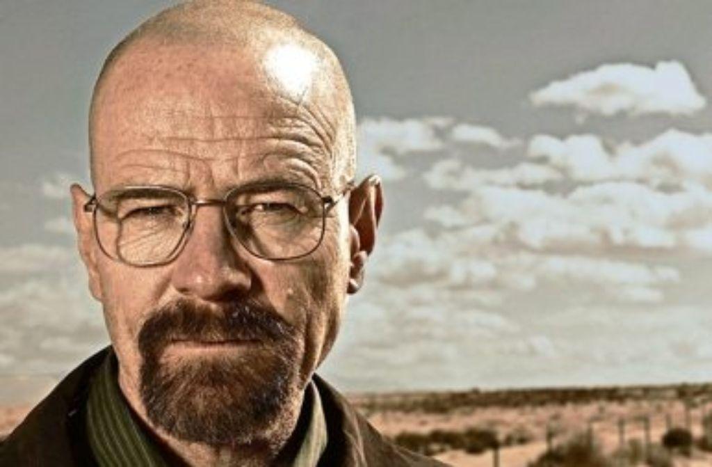 """Walter White (Bryan Cranston) denkt in  der US-Serie """"Breaking Bad"""" als Krimineller nur an seine Lieben. Foto: AMC"""