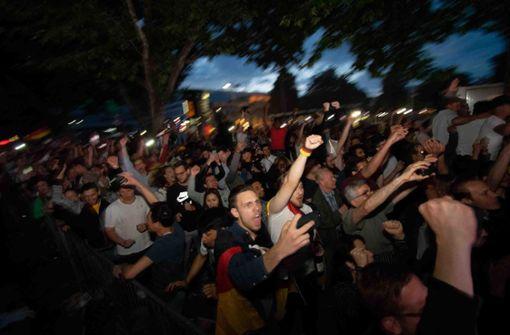 Aus Angst wird pure WM-Freude – Theodor-Heuss-Straße gesperrt