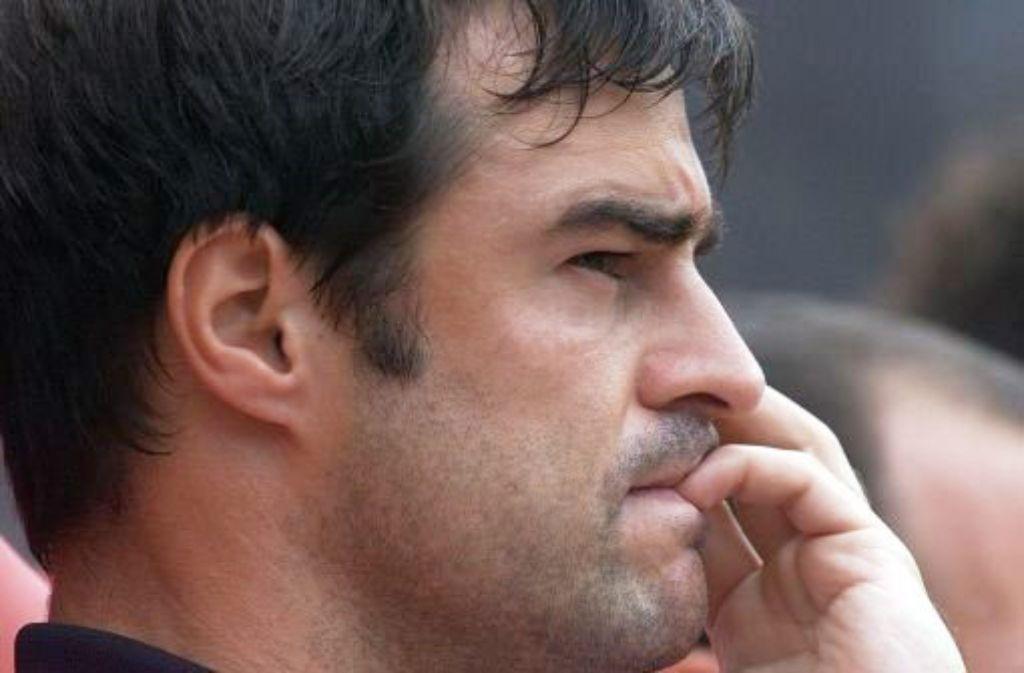 Thomas Berthold, Weltmeister von 1990 und ehemaliger VfB-Verteidiger, macht sich Gedanken zur aktuellen Krise des Vereins. Foto: Baumann