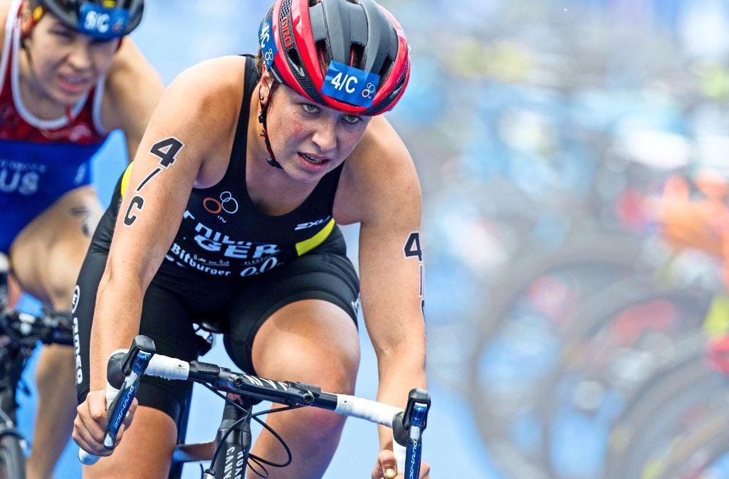 Die Weltmeisterschaften   in Hamburg 2016  zählt          Hanna  Philippin  zu       ihren    schönsten  sportlichen    Momenten  –   sie    gewann  mit der    Mixed-Mannschaft  Bronze. Foto: DTU/Jo Kleindl
