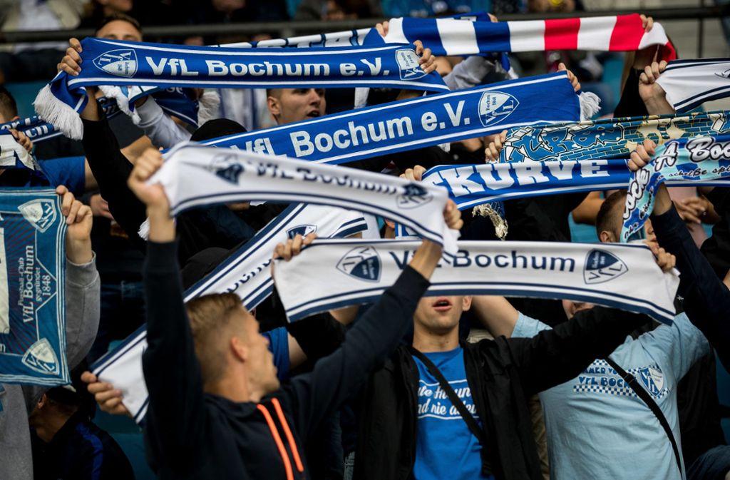 Der VfL Bochum hat treue Anhänger – sie verbindet eine Fan-Freundschaft mit dem FC Bayern München. Foto: Getty
