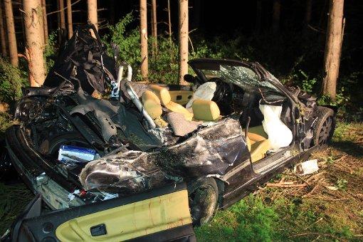 Hasen ausgewichen - Beifahrer tot