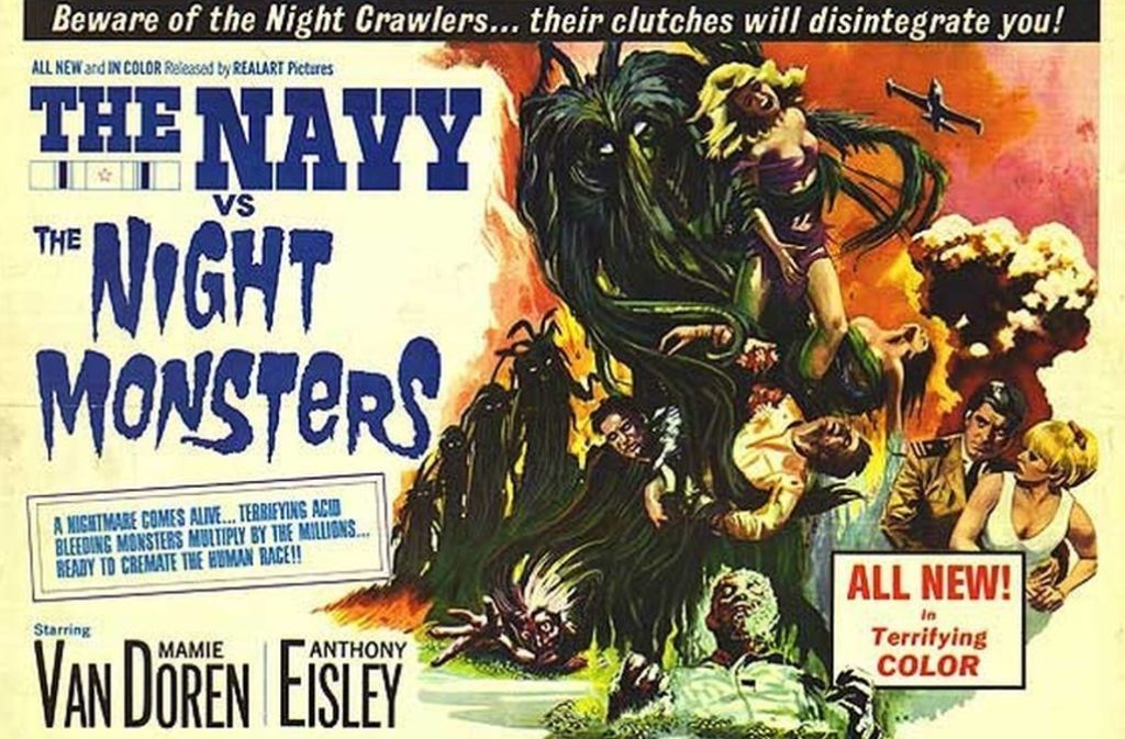 "Lange vor den Wundern der digitalen Bildtricks sind richtig trashige Filme wie ""The Navy vs. the Night Monsters"" entstanden. Foto: Verleih"