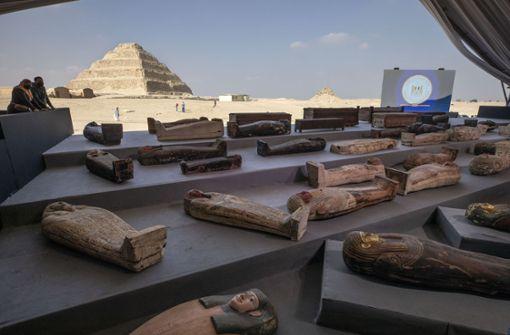 Sensationeller Antikenfund in Sakkara
