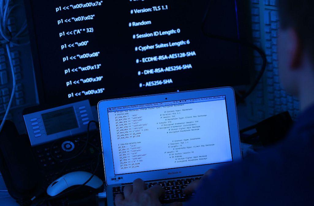 Hacken ist für viele ein lohnendes Geschäft – aber ein illegales. Foto: dpa-Symbolbild