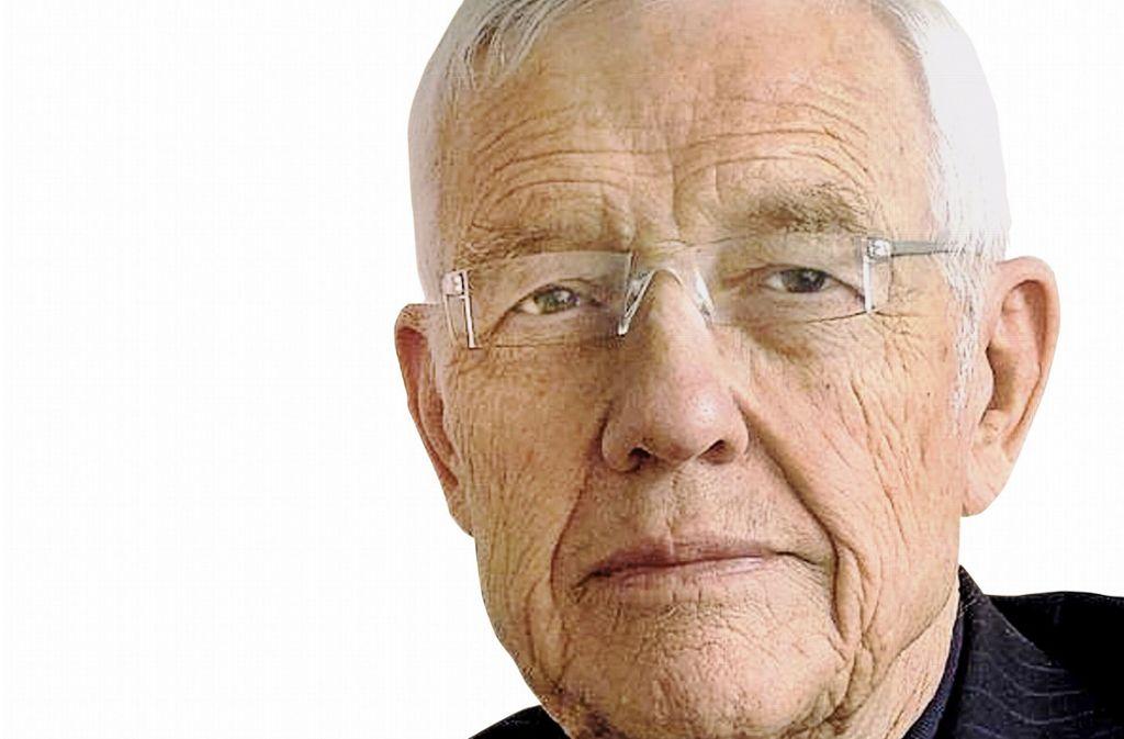 Eberhard Ebner wird an diesem Donnerstag 90. Foto: BDZV