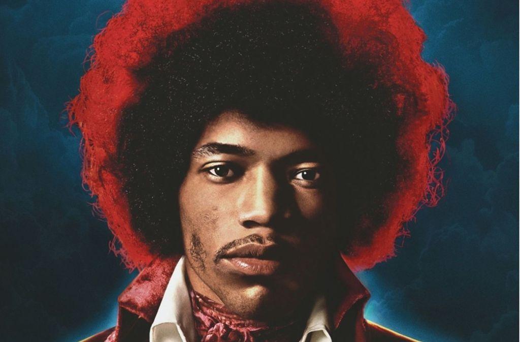 """Jimi Hendrix – hier auf dem Cover seines """"neuen"""" Albums Foto: Sony"""