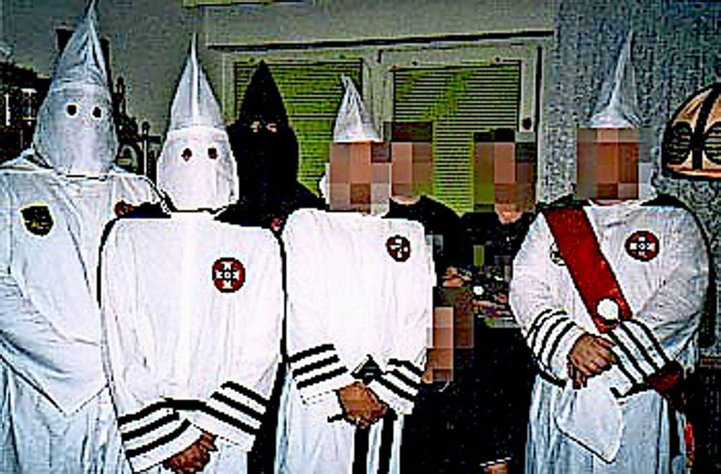 Der deutsche Ku-Klux-Klan blieb im rechten Sumpf eine Randerscheinung. Foto: Krützfeldt