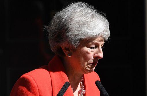 Premierministerin kann Tränen nicht zurückhalten
