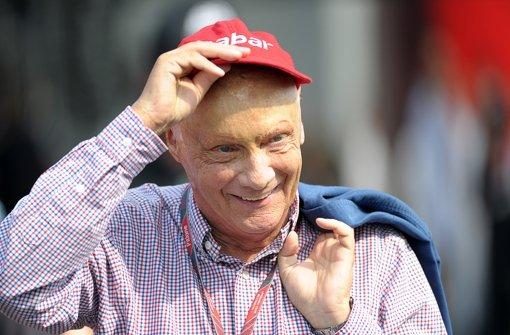 Niki Lauda mag keine halben Sachen – er will den Titel. Foto: dpa