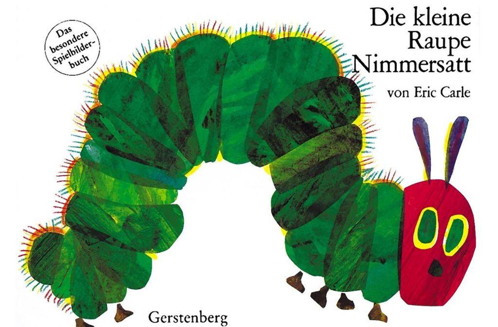 Die kleine Raupe Nimmersatt ist bis heute bei den Kindern beliebt. Foto: Gerstenberg-Verlag