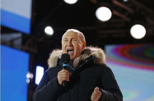Präsident Putin bis 2024 im Amt – AfD gratuliert