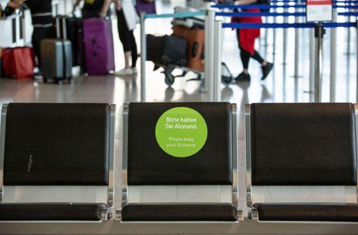 Sensoren sollen Abstand zwischen Passagieren überwachen