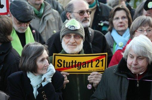 Letzte S21-Demo vor der Landtagswahl