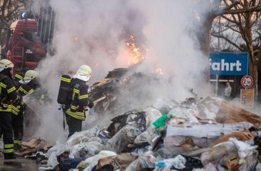 Starker Rauch: Remspark geräumt