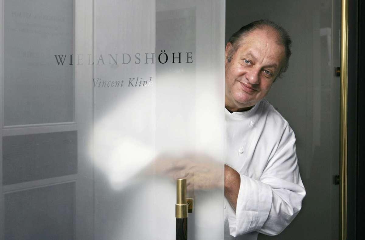 Koch Vincent Klink ist auch aus dem Fernsehen bekannt. (Archivbild) Foto: picture-alliance/ dpa/Marijan Murat