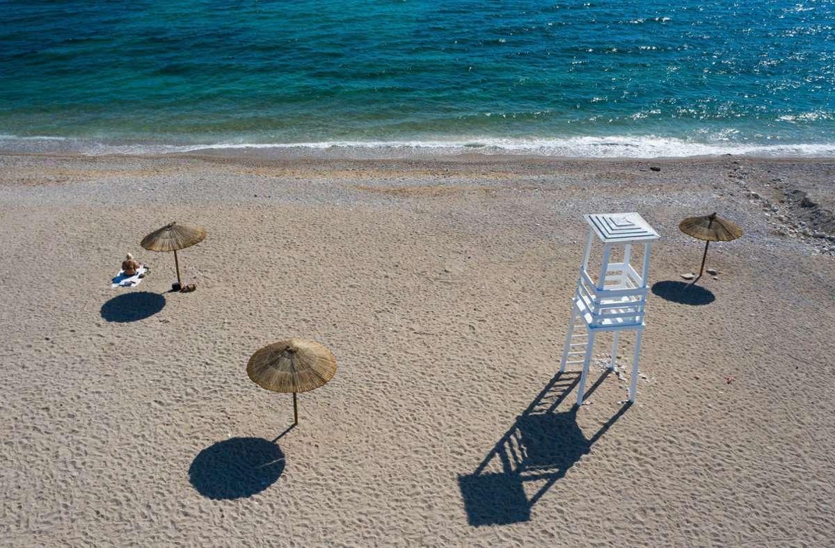 Fast ein Fünftel der griechischen Wirtschaftsleistung kommt vom Tourismus. Foto: dpa/Lefteris Partsalis