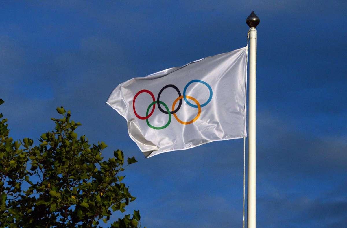 Wo finden die Olympischen Spiele 2032 statt? (Symbolbild) Foto: dpa/Peter Kneffel