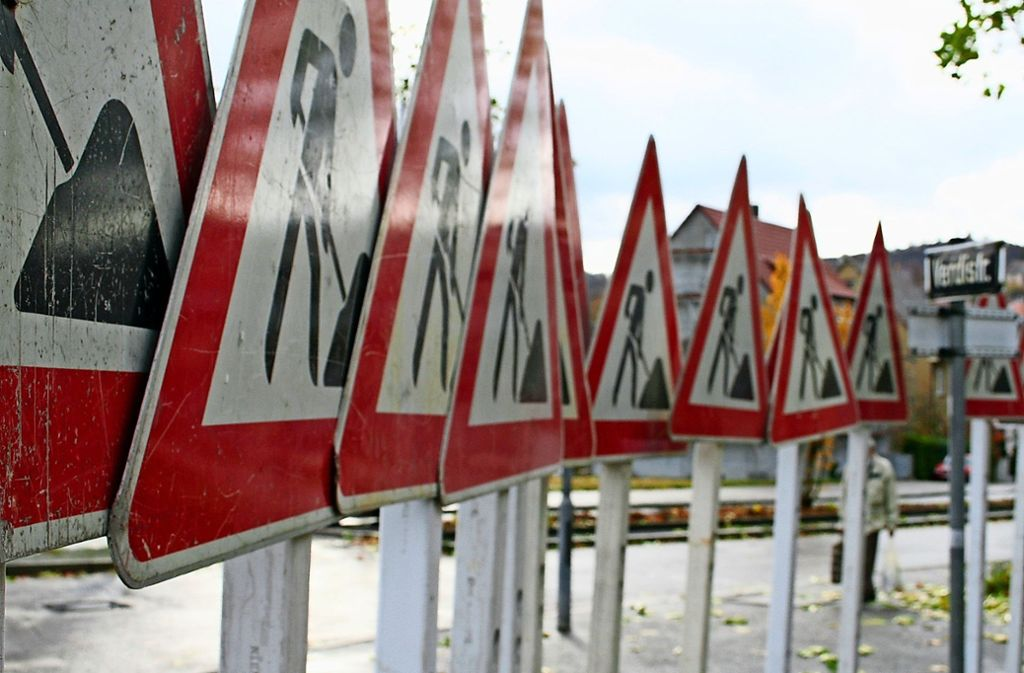 Neue Baustelle, neues Glück: Am Wochenende beginnen die Arbeiten für die Umgestaltung des Kreisverkehrs am Schelmenwasenring. Foto: Archiv Thorsten Hettel