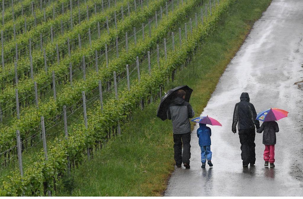 Zum Vatertag gibt es wechselhaftes Wetter und wenig Hoffnung auf viel Sonne am verlängerten Wochenende. Foto: dpa