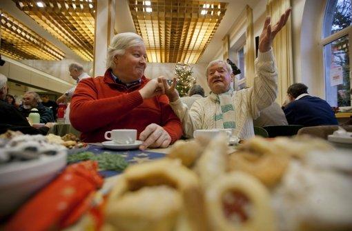 """1700Menschen kamen im vergangenen Jahr zum """"Stall"""" ins Haus der Diakonie. Foto: Steinert"""