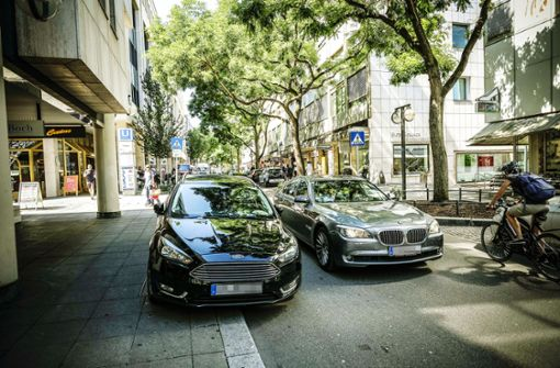 Steiniger Weg zur parkplatzfreien City