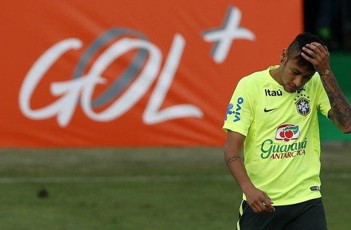 Brasilien-Star Neymar für den Rest des Turniers gesperrt